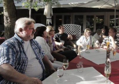 MV 2011 - gemeinsames Abendessen