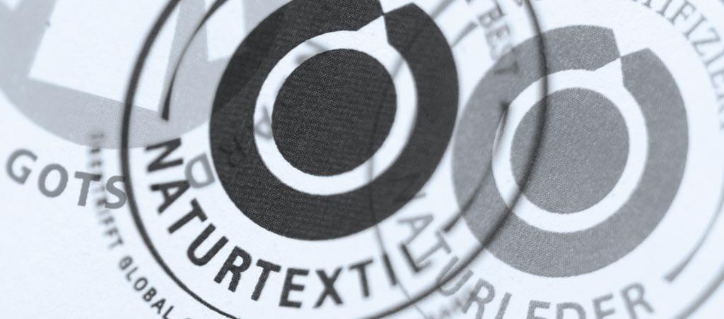 Textilrelevante Nachhaltigkeitssiegel