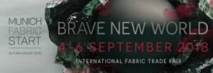 Munich Fabric Start 4-6 Septmber 2018